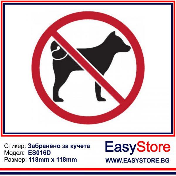 забранено за кучетаа